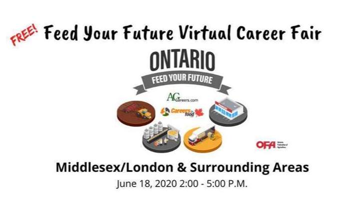 Feed Your Future Ad, brought to you by AgCareers and the Ontario Federation of Labour